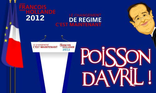 poisson avril hollande