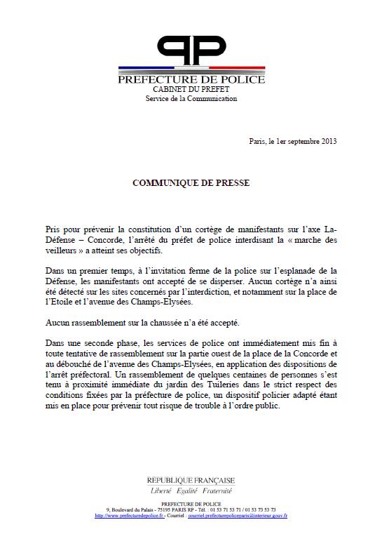Pr fecture de police de paris le ridicule ne tue pas - Prefecture de police de paris bureau des associations ...